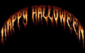 clipart happy halloween typography 3