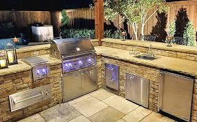 custom outdoor kitchen designs interesting custom outdoor