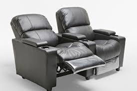 home theater recliner sophie brand new black leather 2 seater recliner home theatre