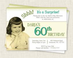 surprise 60 birthday party invitations image collections