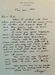 george h w bush u0027s letter to bill clinton reminds us what we have