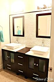 double bowl sink vanity bowl sink with vanity tasty vessel sink vanities for small bathrooms