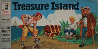 Treasure Island Map Milton Bradley U0027s Old Board Game Of Treasure Island U2013 Mysterious