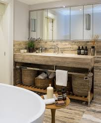 bathroom contemporary bathroom decor ideas with wricker with baskets bathroom contemporary with freestanding tub slatted