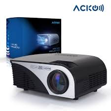 home theater computer acko portable mini led projector office home theater 1200 lm