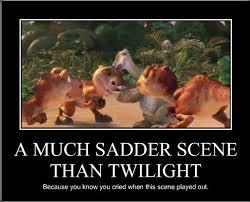 Still A Better Lovestory Than Twilight Meme - a much sadder scene than twilight still a better love story than