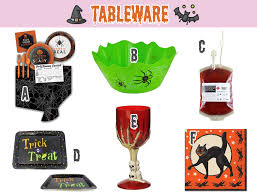 spooky decor u0026 tableware for your halloween party the teelie blog