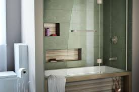 tub with glass shower door shower awesome tub shower doors installation 94 semi framed