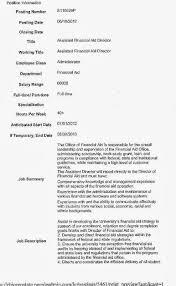 Resume Sample Harvard by Resume Financial Aid Resume