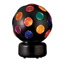 disco light bulb home depot shop style selections 10 6 in multicolor disco ball party light at