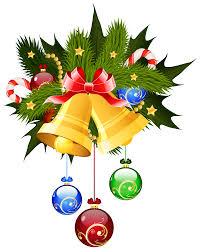 bells and ornaments transparent png clip image