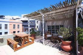 terrassengestaltung mit bambus