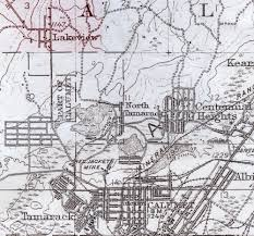 map of calumet michigan lakeview and the calumet brewery copper country explorer