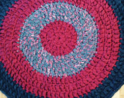Red White And Blue Rugs Blue Cottage Rugs By Bluecottagerugs On Etsy