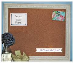 decor u0026 tips wonderful cork bulletin boards with frame design