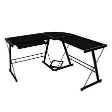 Walmart Massage Table Black Glass And Metal Corner Computer Desk Walmart Canada