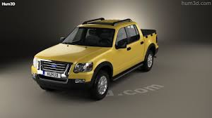 Ford Explorer Pickup - 360 view of ford explorer sport trac 2006 3d model hum3d store