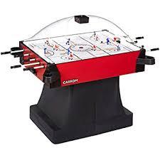 How To Clean Air Hockey Table Amazon Com Carrom 415 Super Stick Hockey Table Dome Hockey