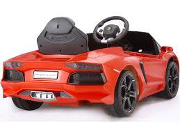 lamborghini aventador lp700 ride on car rastar lamborghini aventador lp700 4 6v orange battery powered