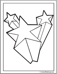 shooting stars colouring pages shooting star coloring pages az