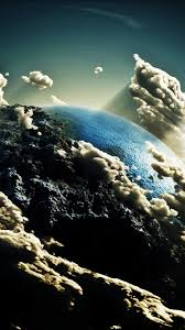 earth for android earth space clouds android wallpaper free