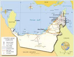 arab map maps of united arab emirates bizbilla