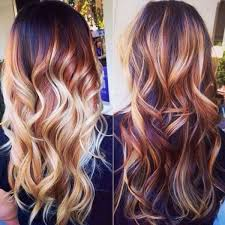 highlights vs ombre style 2015 brown hair color trends balayage with blonde highlights by rena