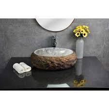 stone vessel sink amazon 857 butterfly blue granite vessel sink amazon com inside idea 15