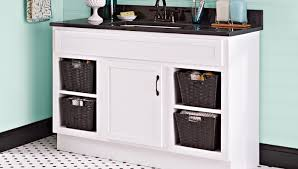 White Vanity Cabinets For Bathrooms Paint A Bathroom Vanity