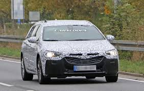 2017 opel insignia sports tourer spied will likely arrive as a