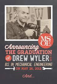 create your own graduation announcements drew s graduation announcements drew