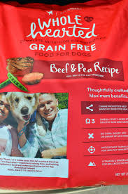 wholehearted is a brand of high quality grain free dog food