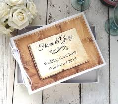 vintage guest book wedding
