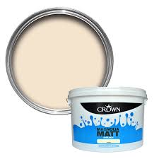 crown magnolia matt emulsion paint 10l departments diy at b u0026q