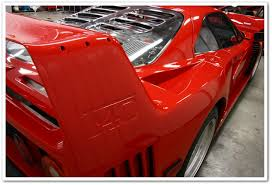 how many f40 are left f40 60 hour restorative detail by todd cooperider and