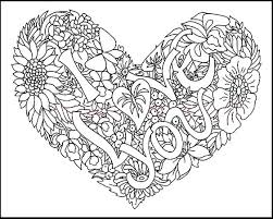 15 love coloring pages images
