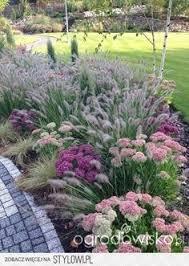 ornamental grass and flower garden idea creative gardens
