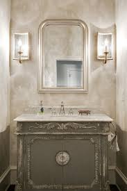 powder room painting ideas bathroom traditional with wall sconce