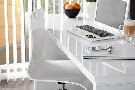 white high gloss desk furniturebox uk enzo white high gloss computer pc home executive
