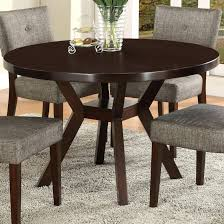 48 round dining table with leaf crown mark kayla round trestle base dining table wayside 48 round