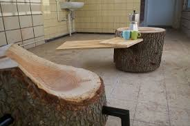 furniture made from reclaimed wood maintains its naturalistic