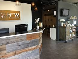 great options for displaying your retail chiropractic office design
