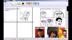 How To Create A Meme Comic - how to make a troll meme youtube