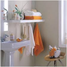 bathroom creamy wall bathroom shelving units awesome ideas