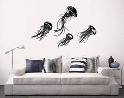 Full Wall Stickers For Bedrooms Ocean Wall Decal Etsy