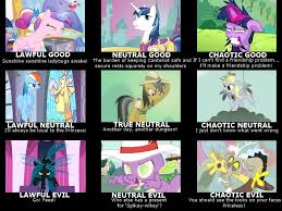 Mlp Funny Memes - my little pony alignment meme season 2 by rioumcdohl26 on deviantart