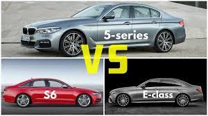 audi s6 vs 2017 bmw 5 series vs audi a6 s6 vs mercedes e class