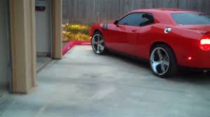 Dodge Challenger On Rims - dodge challenger with rims youtube