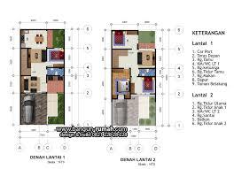 desain rumah lebar 6 meter denah rumah 2 lantai lebar 7 meter x 15 meter desain rumah online