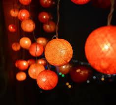 cotton ball battery operated string light bulk led christmas